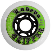 Labeda Gripper Soft Inline Hockey Skate Wheels - 4 Pack, 68mm, medium