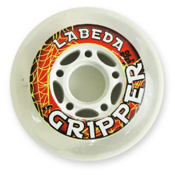 Labeda Gripper Soft Inline Hockey Skate Wheels - 4 Pack, 59mm, medium