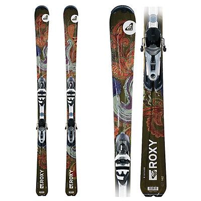 Roxy Joyrider Womens Skis with Integral Joyrider Bindings, , large