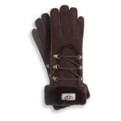 UGG Australia Igloo Womens Gloves, Chocolate, medium