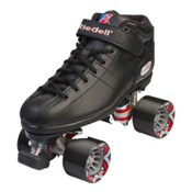Riedell R3 Speed Roller Skates, Black, medium