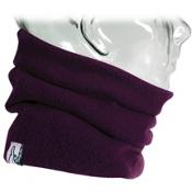 Turtle Fur  Kids Neck Warmer, Purple, medium