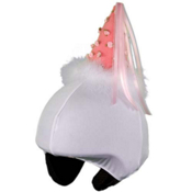 Mental Princess Helmet Cover, White, medium