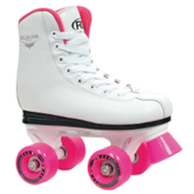 Roller Derby Roller Star 350 Girls Roller Skates 2013, White-Pink, medium