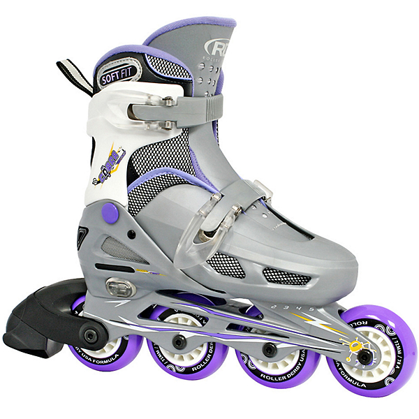 Roller Derby Cobra Adjustable Girls Inline Skates 2017, , 600