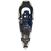 Crescent Moon Silver Series 9 Buckle Binding Snowshoes, Polished Aluminum, medium
