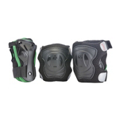 K2 Mach Pad Set Mens Three Pad Pack, Black-Green, medium