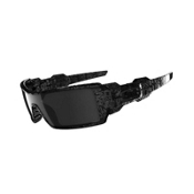 Oakley Oil Rig Sunglasses, Polished-Black, medium