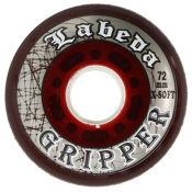 Labeda Gripper X-Soft Inline Hockey Skate Wheels - 4 Pack, , medium