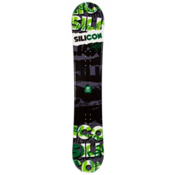 Silicon Crack Green Snowboard, , medium