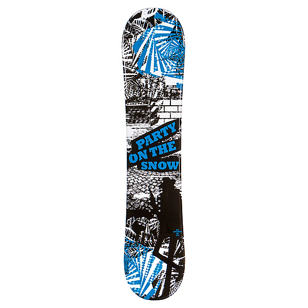 SLQ Awesome Blue Boys Snowboard, , 600