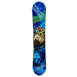 Defiance Top Secret Blue Snowboard, , 256