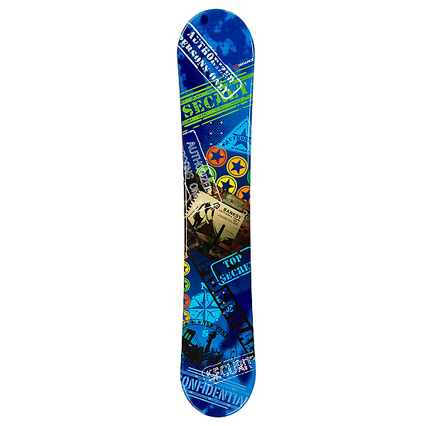 Defiance Top Secret Blue Snowboard, , 600