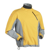 Immersion Research Zephyr Long Sleeve Paddling Jacket, Mango-Grey, medium