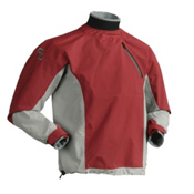 Immersion Research Zephyr Long Sleeve Paddling Jacket 2013, Brick Red-Gray, medium