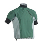 Immersion Research Zephyr Short Sleeve Paddling Jacket 2013, Dark Forest-Gray, medium