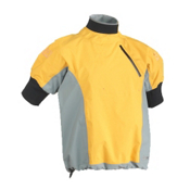 Immersion Research Zephyr Short Sleeve Paddling Jacket 2013, Mango-Gray, medium