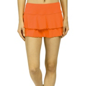 Body Glove Lambada Skirt Bathing Suit Cover Up, Wildfire, medium