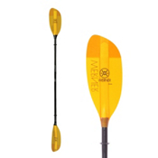Werner Paddles Shuna Straight STD Kayak Paddle, Amber, medium