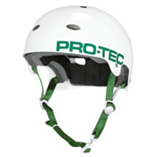 Pro-Tec B2 Mens Skate Helmet, Gloss White, medium