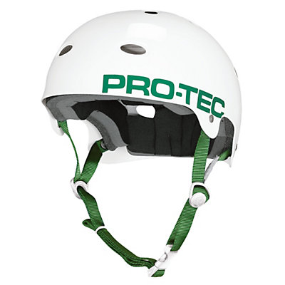 Pro-Tec B2 Mens Skate Helmet, Gloss White, large