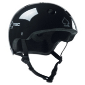 Pro-Tec The Classic Mens Skate Helmet, Black, medium