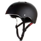 Pro-Tec The Classic Mens Skate Helmet, Spitfire-Black, medium