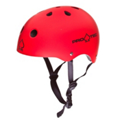 Pro-Tec The Classic Mens Skate Helmet, Matte Red, medium