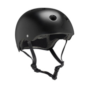 Pro-Tec The Classic Mens Skate Helmet, Satin Black, medium