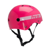 Pro-Tec The Classic Mens Skate Helmet 2015, Pink Retro, medium