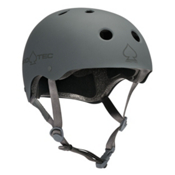 Pro-Tec The Classic Mens Skate Helmet, Rubber Gray, medium