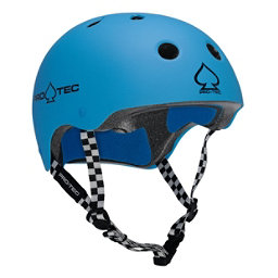 Pro-Tec The Classic Mens Skate Helmet 2017, Gumball Blue, 256