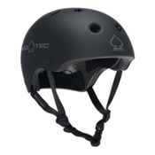 Pro-Tec The Classic Mens Skate Helmet, Rubber Black, medium