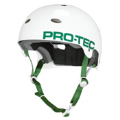 Pro-Tec B2 SXP Mens Skate Helmet, Gloss White, medium