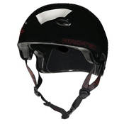 Pro-Tec B2 SXP Mens Skate Helmet, Gloss Black, medium