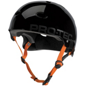 Pro-Tec B2 SXP Mens Skate Helmet, Gloss Jet Black, medium
