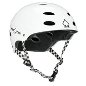 Pro-Tec Ace SXP Mens Skate Helmet 2013, Gloss White, medium