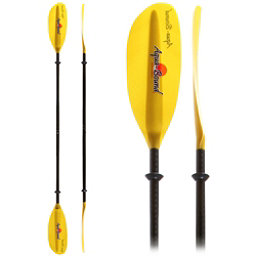 AquaBound Surge FG 2-Piece Kayak Paddle 2017, Yellow, 256