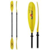 AquaBound Swell FG 2-Piece Kayak Paddle, Yellow, medium