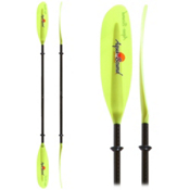 AquaBound Swell FG 2-Piece Small Shaft Kayak Paddle, Green, medium