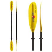 AquaBound Spindrift FG 2-Piece Kayak Paddle, Yellow, medium