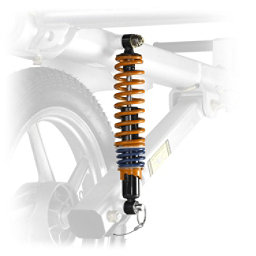 Yakima Heavy Duty Shocks, Gray, 256
