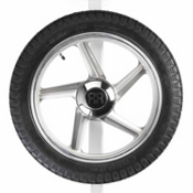 Yakima Spare Tire, Gray, medium