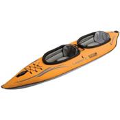 Advanced Elements Lagoon 2 Inflatable Kayak 2016, Orange-Grey, medium
