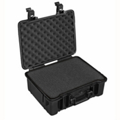 B&W Outdoor Cases Type 61 Sponge Insert Waterproof Case, Black, medium