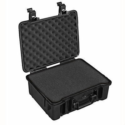 B&W Outdoor Cases Type 61 Sponge Insert Waterproof Case, Black, viewer