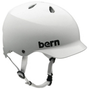 Bern Watts Hard Hat, Gloss White, medium