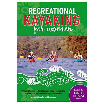 Heliconia Press Recreational Kayaking for Women Kayak DVD Video, , viewer
