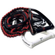 Proline LG Combo Wakesurf Rope 2013, Black-Red, medium