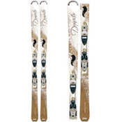 Dynastar Exclusive Sensation Womens Skis with Nova 9 Fluid Bindings, , medium